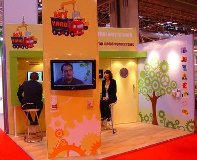 My Yard stand at RWM 2010 exhibition